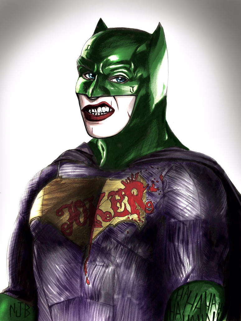 The Joker's New Suit by TheSithLordJoker