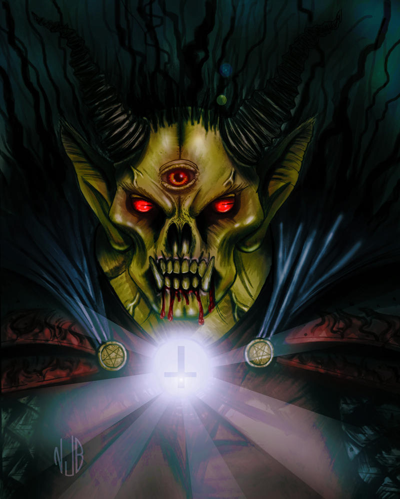 The Demon Knight, Etrigan by TheSithLordJoker