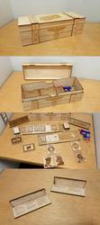Secret Hitler - Laser Cut Gameboard Set by Earth-Pony