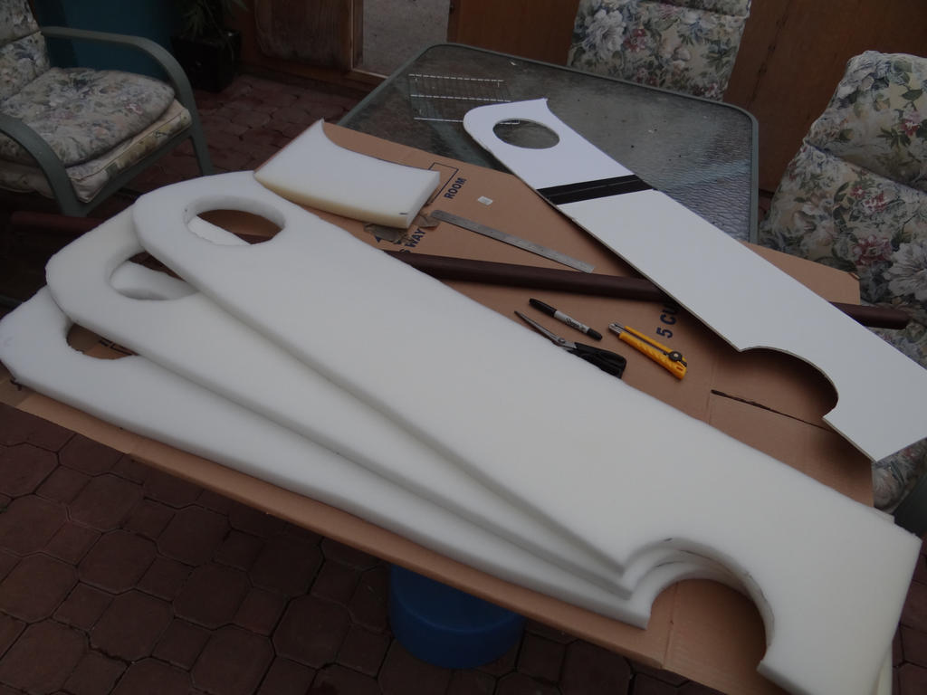 WIP: Cosplay Boffer: zabuza sword by jordicus on DeviantArt Zabuza Sword Cosplay