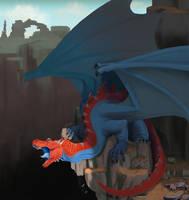 Crimson Cragback by FoxTaleStudio