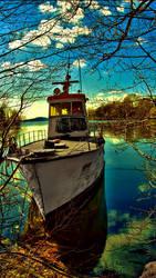 boat  by azropda