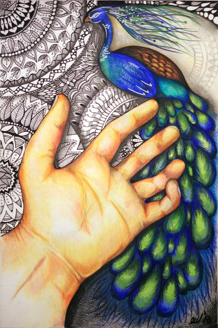 In the hand by WickhamArt