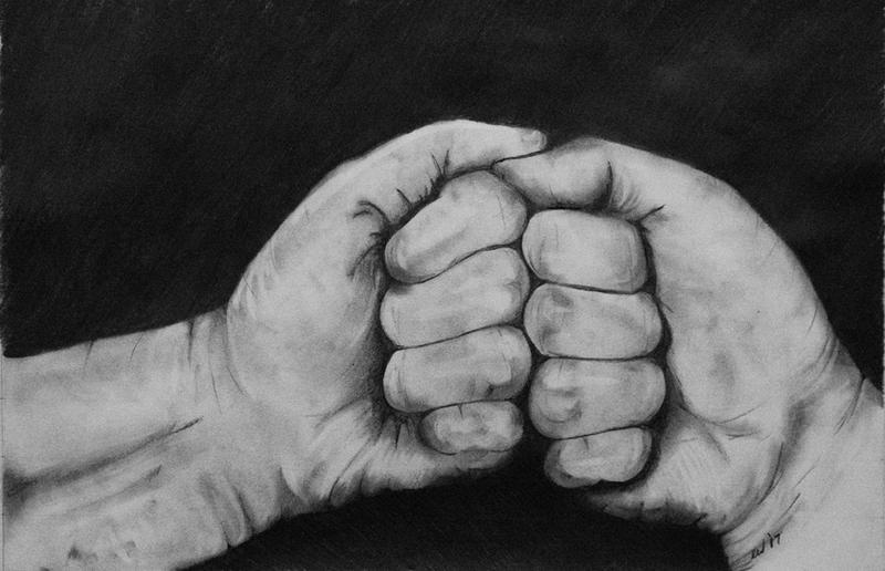 Double Fist by WickhamArt