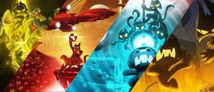Monstercat Best Of 2016 ultra widescreen wallpaper