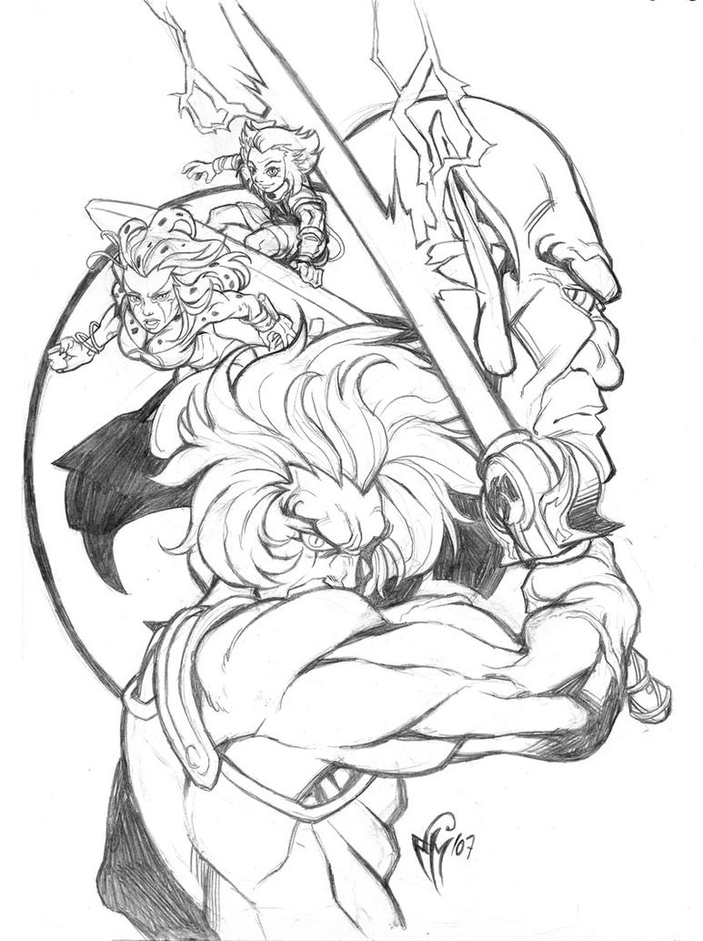 thundercats coloring pages cake ideas and designs