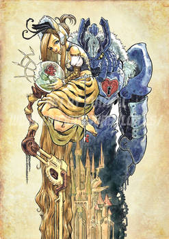 Steampunk Beauty and the Beast