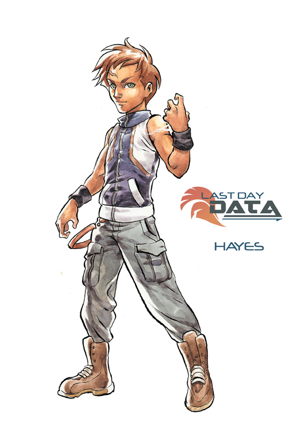 Last Day Data - Hayes by MarcelPerez