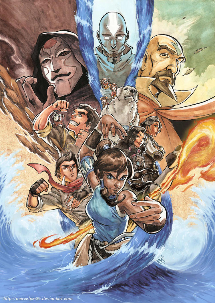 Legend of Korra - Poster by MarcelPerez