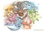 Pokemon - Eeveelutions