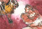 Ryu Versus Wolverine