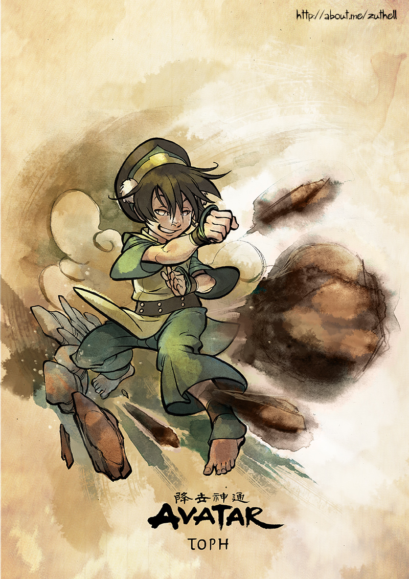 AVATAR COLLECTION 02 - Toph by MarcelPerez