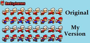 [SMBZ] Mario Run Sprite Sheet