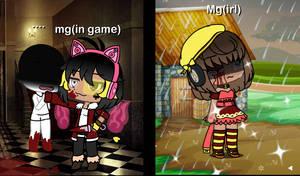 Me in any game vs me irl