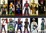 Kamen Rider Wizard Portrayed by Any Characters