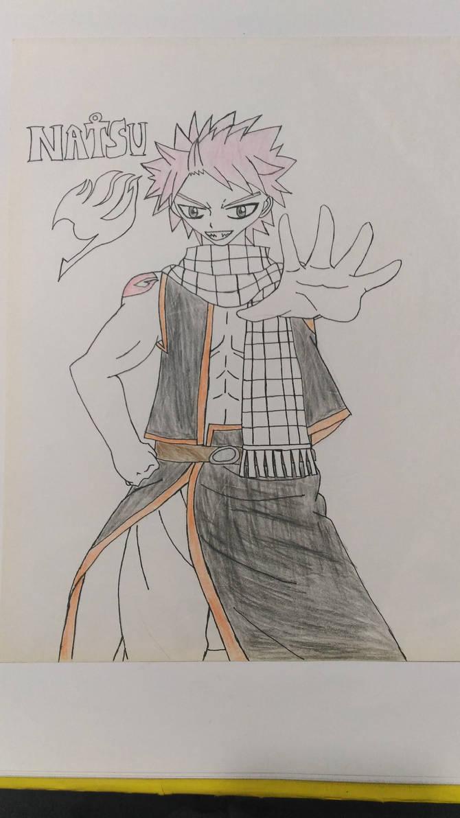 Nostalgia Art: Natsu Dragneel