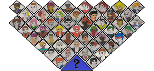 Roster with Unlockables and DLC(Complete Season 1)