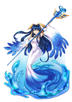 Blue Moon Sea Deity, Isis
