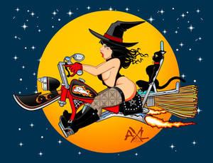 2015 Halloween pin up