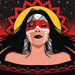 Apache Woman 1