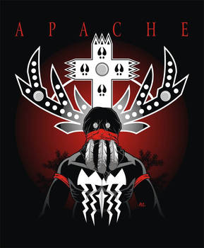 Apache Gand Dancer t-shirt design one