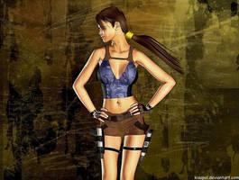 Lara Croft 9 by Kisapol