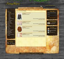 Fantasy Shop Template by Moev