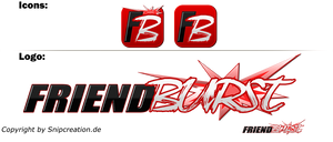 Friend Burst Logo and Icon