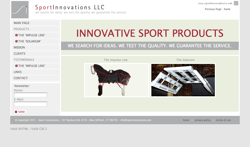 Sport-Innovations by Moev