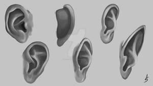 Ears #4 of February Anatomy Challenge