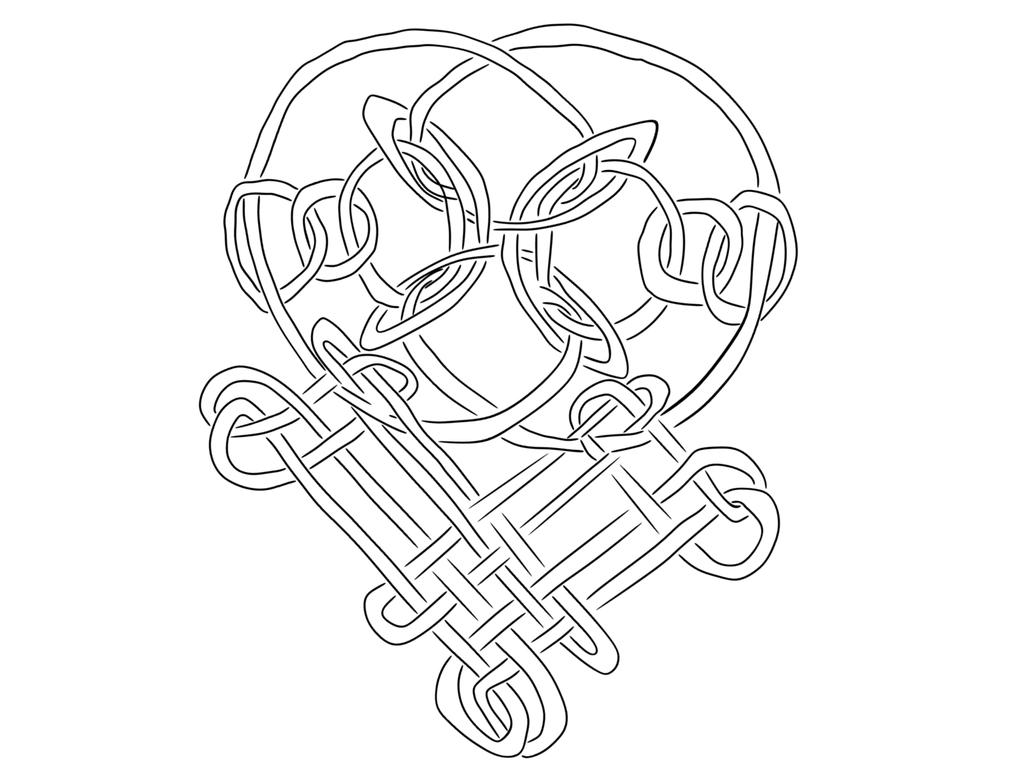 Celtic Heart by jaqbenny