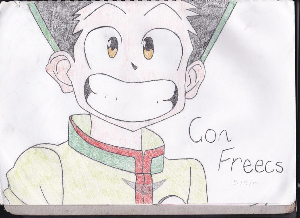 Gon Freecs Hunter X Hunter By Azureyugiohvanguard On