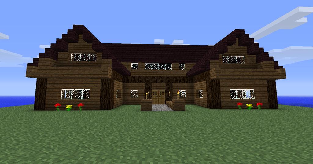 Fancy Farmhouse Minecraft By LadyZenora On DeviantArt