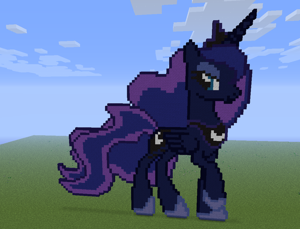 Rarity minecraft pixel art