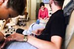 With My Wife In A Manicure Salon 2