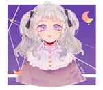 Purple Dream ( Request - Chest-up commission sampl