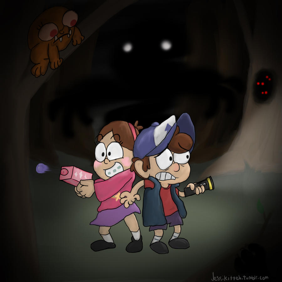 Gravity Falls by LordBoop