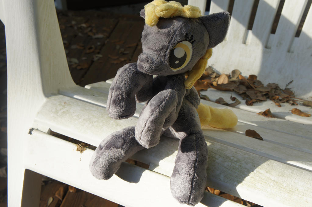 Holdable?? Derpy Plush?? for SALLEEE by LordBoop