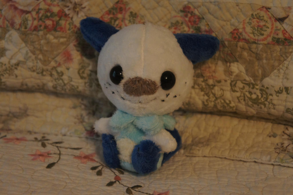 Oshawott Plush by LordBoop