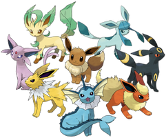 AN EEVEE FAMILY (vore story)