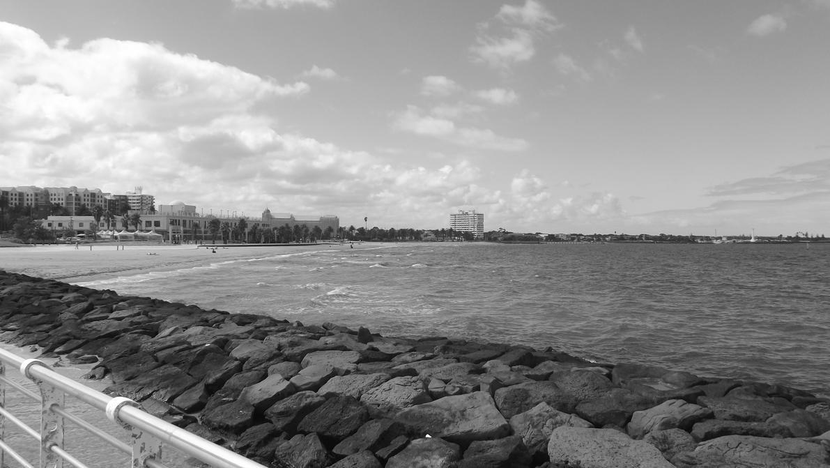 st kilda beach 6 by neo114