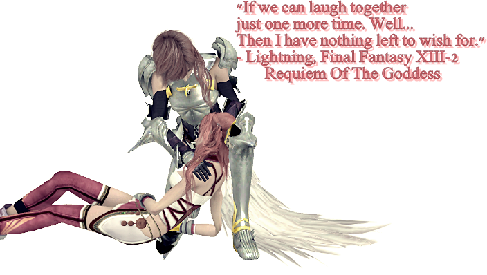 Final Fantasy Xiii 2 Lightning And Serah By Roygen On