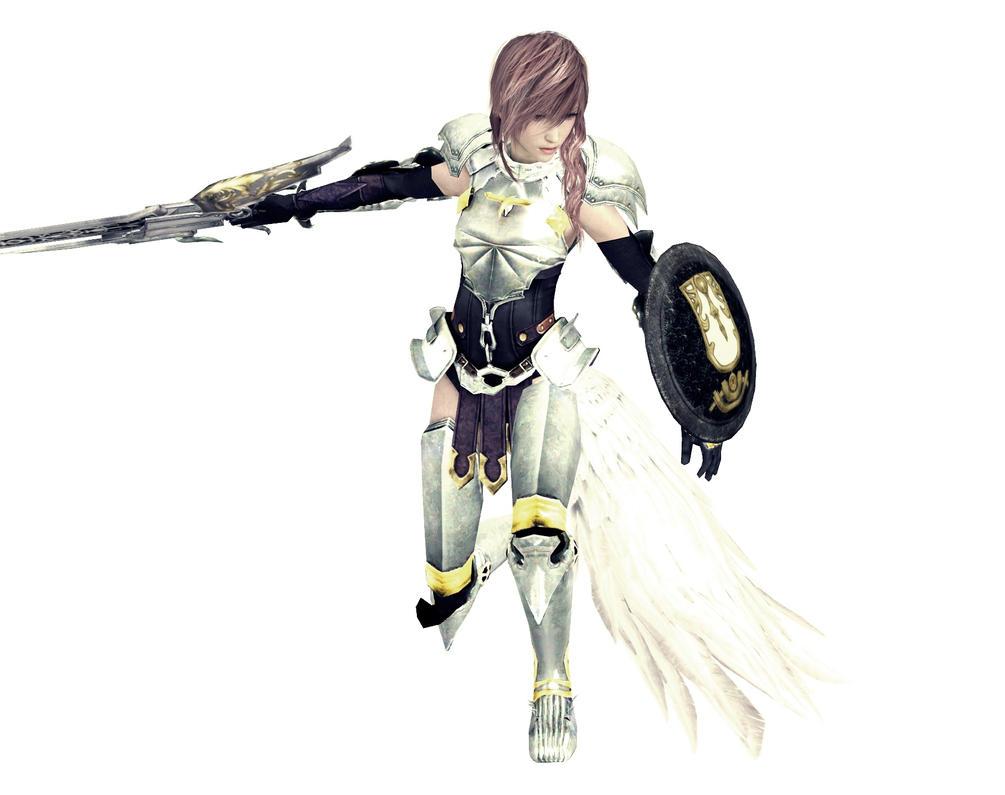 Final Fantasy XIII-2 Lightning by RoXxyGen on deviantART