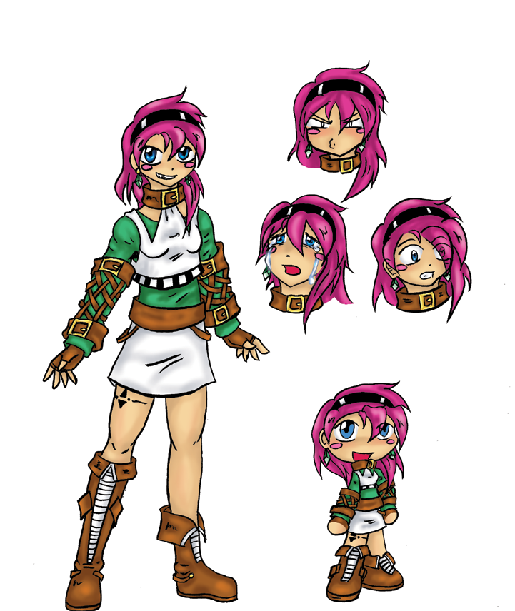 Character Design Masterclass Book One : Game master character design by roserei on deviantart