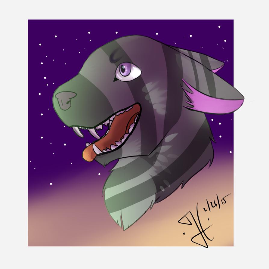 Space Cat by Foxachu