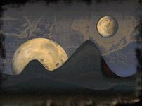 2 moons by Vikasuperstar