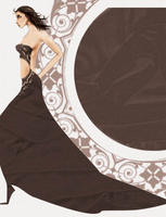 lace and chiffon by Vikasuperstar