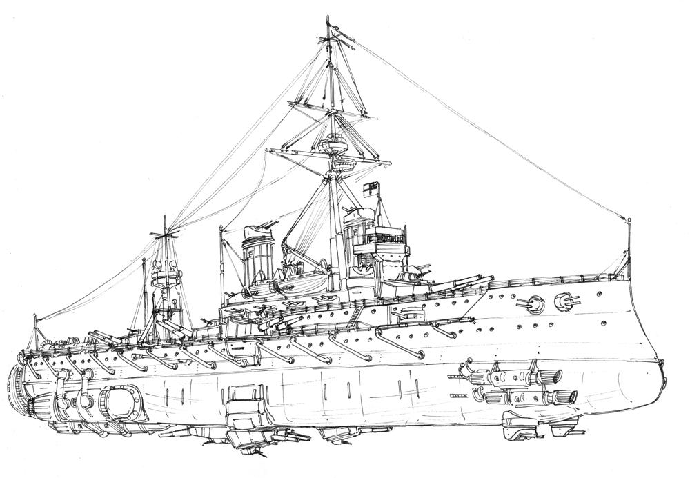 HMS Dreadnought in spaaaaace by JanBoruta