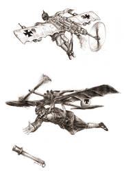Flying Prussian by JanBoruta