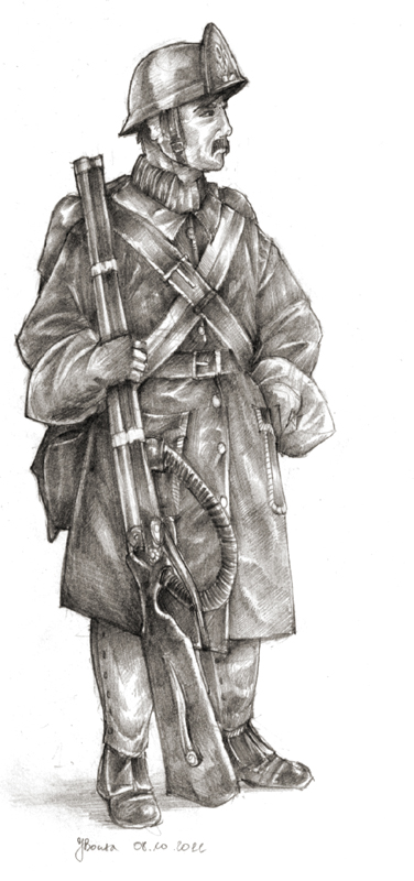 Hirseng - Cedarrian Infantry by JanBoruta